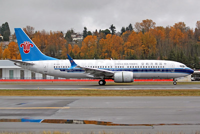 China Southern's first Boeing 737-8 MAX 8