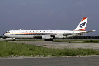 China Southwest Airlines Boeing 707-3J6C B-2418 (msn 20722) (Christian Volpati Collection). Image: 941226.