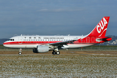 China United Airlines-CUA Airbus A319-114 D-AVYJ (B-4090) (msn 5023) XFW (Gerd Beilfuss). Image: 907752