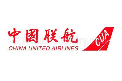 1. China United Airlines-CUA logo