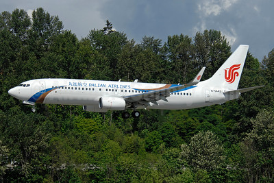 Dalian Airlines Boeing 737-89L WL B-5642 (msn 40017) BFI (TMK Photography). Image: 908378.