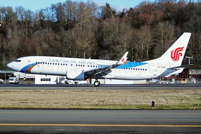 Dalian Airlines Boeing 737-800 WL B-1210 (msn 60881) BFI (Joe G. Walker). Image: 941583.