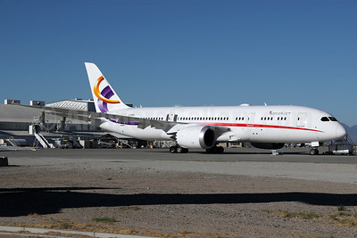 Deer Jet's first Boeing 787 Dreamliner in a new livery