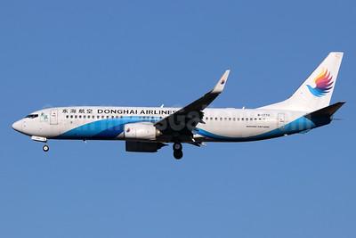Donghai Airlines Boeing 737-8Q8 WL B-1770 (msn 41802) TSN (Michael B. Ing). Image: 939398.