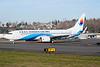 Donghai Airlines Boeing 737-8Q8 WL B-1770 (msn 41802) BFI (Joe G. Walker). Image: 926392.