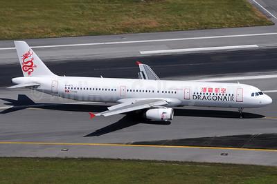Dragonair Airbus A321-231 B-HTI (msn 2021) HKT (Richard Vandervord). Image: 923510.