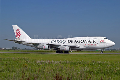 Dragonair Cargo Boeing 747-312 (SF) B-KAA (msn 23769) AMS (Arnd Wolf). Image: 903965.