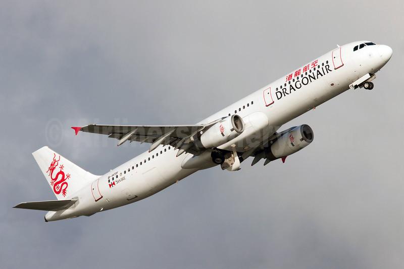 Dragonair Airbus A321-231 B-HTF (msn 633) HKG (Guillaume Besnard). Image: 910108.