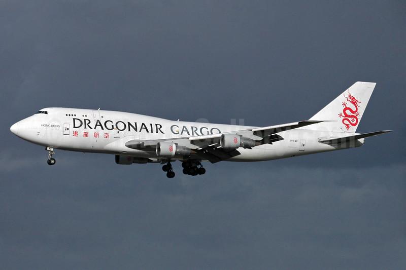 Dragonair Cargo Boeing 747-3H6 (F) B-KAC (msn 23600) MAN (Rob Skinkis). Image: 936050.