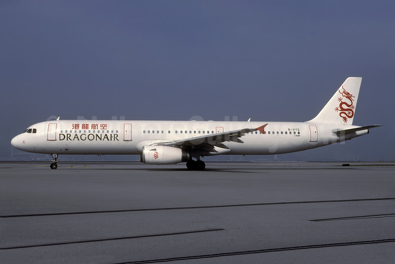 Dragonair Airbus A321-231 B-HTE (msn 1024) HKG (Rolf Wallner). Image: 936047.
