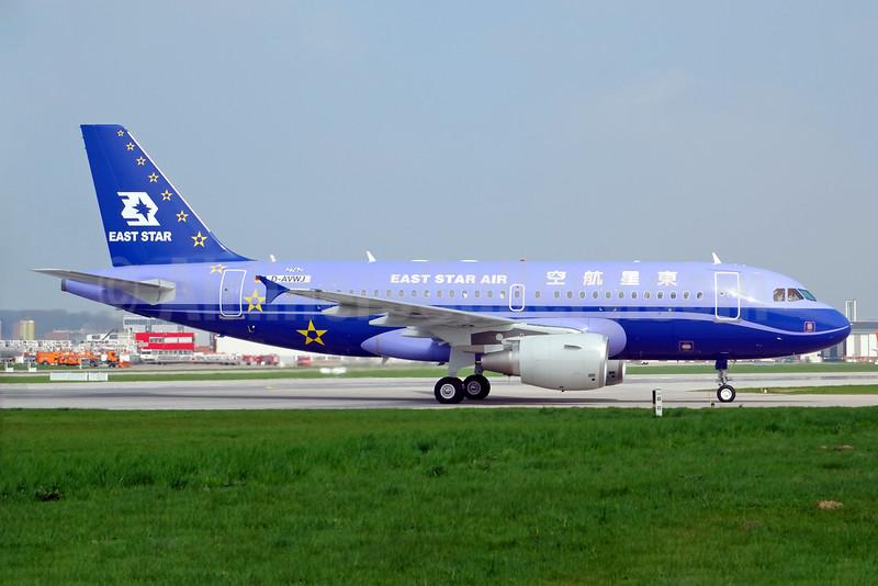 East Star Air Airbus A319-132 D-AVWJ (B-6229) (msn 2762) XFW (Gerd Beilfuss). Image: 934670.