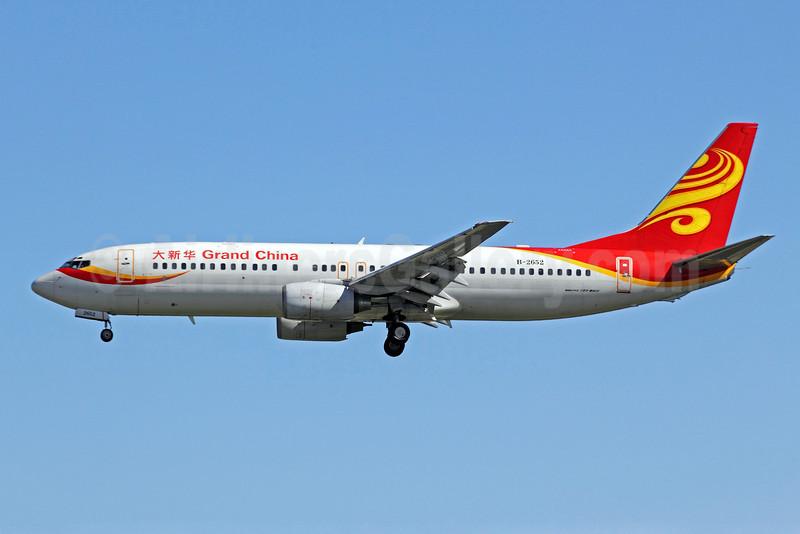 Grand China Airlines Boeing 737-84P B-2652 (msn 30475) PEK (Michael B. Ing). Image: 905743.