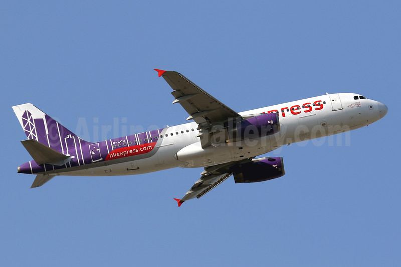 HK Express Airbus A320-232 B-LCB (msn 2322) HKG (Javier Rodriguez). Image: 937242.