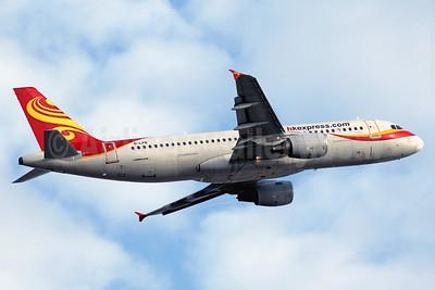 hkexpress.com (HK Express) Airbus A320-214 B-LPB (msn 4970) (Hong Kong Airlines colors) HKG (Javier Rodriguez). Image: 937246.