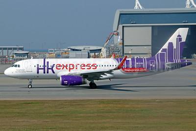 HK Express Airbus A320-232 WL B-LCD (msn 6302) HKG (Michael B. Ing). Image: 925656.