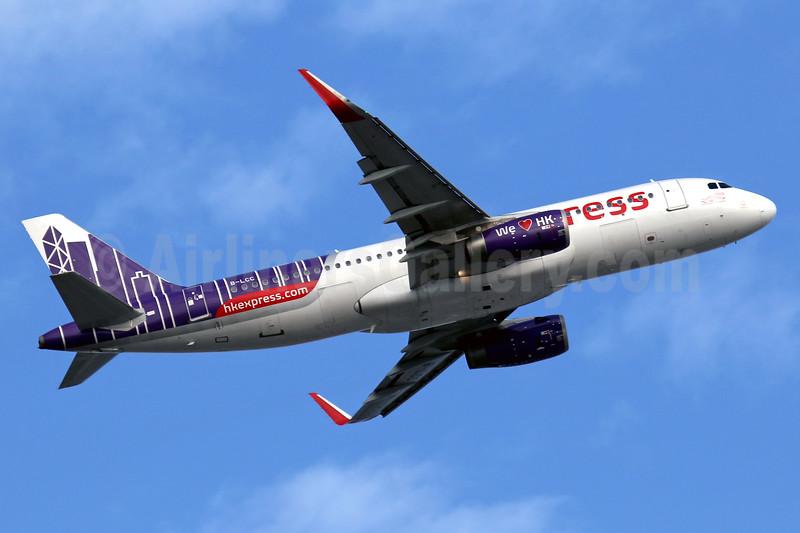 HK Express Airbus A320-232 WL B-LCC (msn 6142) HKG (Javier Rodriguez). Image: 937244.