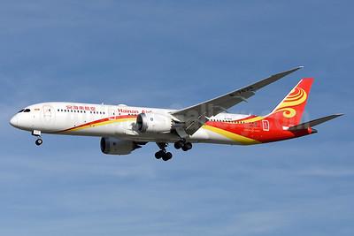 Hainan Airlines Boeing 787-9 Dreamliner B-7839 (msn 62714) SJC (Steve Bailey). Image: 935708.