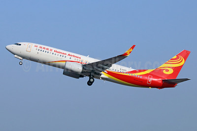 Hainan Airlines Boeing 737-84P WL B-5371 (msn 35752) PEK (Michael B. Ing). Image: 938460.