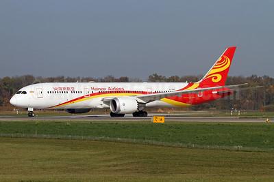Hainan Airlines Boeing 787-9 Dreamliner B-7835 (msn 62712) ZRH (Andi Hiltl). Image: 944329.