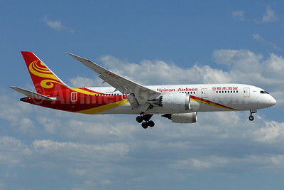 Hainan Airlines Boeing 787-8 Dreamliner B-2739 (msn 38055) YYZ (TMK Photography). Image: 937168.