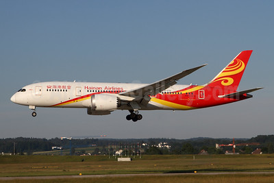 Hainan Airlines Boeing 787-8 Dreamliner B-2722 (msn 34939) ZRH (Andy Hiltl). Image: 947038.