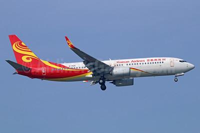 Hainan Airlines Boeing 737-84P WL B-1505 (msn 39962) BKK (Michael B. Ing). Image: 937035.