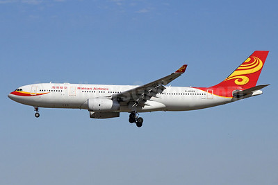 Hainan Airlines Airbus A330-243 B-6089 (msn 919) PEK (Michael B. Ing). Image: 910075.