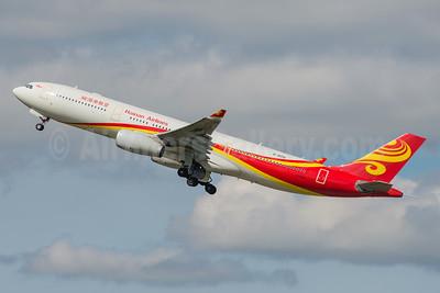 Hainan Airlines Airbus A330-343 B-8015 (msn 1656) MAN (Rob Skinkis). Image: 934862.