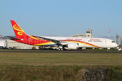 Hainan Airlines Boeing 787-9 Dreamliner B-1138 (msn 62731) PAE (Nick Dean). Image: 943921.