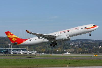 Hainan Airlines Airbus A330-343 B-6527 (msn 1178) ZRH (Andi Hiltl). Image: 907705.