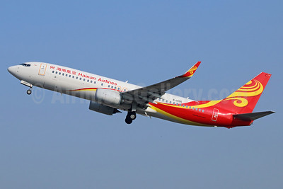 Hainan Airlines Boeing 737-84P WL B-1995 (msn 39213) PEK (Michael B. Ing). Image: 938459.