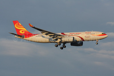 Hainan Airlines Airbus A330-243 B-6088 (msn 906) (Dynasty) ZRH (Andi Hiltl). Image: 906680.