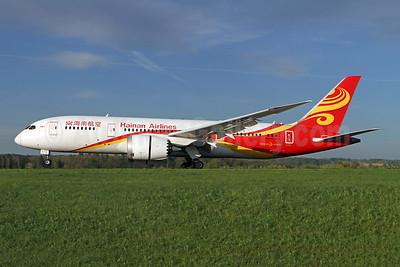 Hainan Airlines Boeing 787-8 Dreamliner B-2731 (msn 34945) ZRH (Andi Hiltl). Image: 946405.