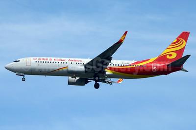 Hainan Airlines Boeing 737-84P WL B-6062 (msn 43658) BKK (Jay Selman). Image: 403509.