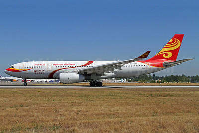 Hainan Airlines Airbus A330-243 B-6088 (msn 906) (Dynasty) SEA (Mark Durbin). Image: 913188.