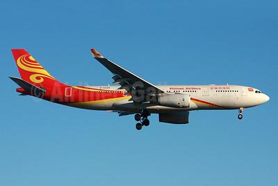 Hainan Airlines Airbus A330-243 B-6089 (msn 919) LHR (SPA). Image: 933923.