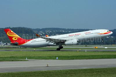 Hainan Airlines Airbus A330-343 B-6529 (msn 1190) ZRH (Andi Hiltl). Image: 913220.