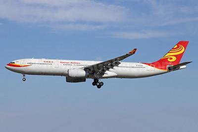 Hainan Airlines Airbus A330-343 B-6520 (msn 1168) PEK (Michael B. Ing). Image: 913219.