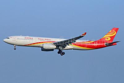 Hainan Airlines Airbus A330-343 B-5935 (msn 1438) PEK (Michael B. Ing). Image: 938461.