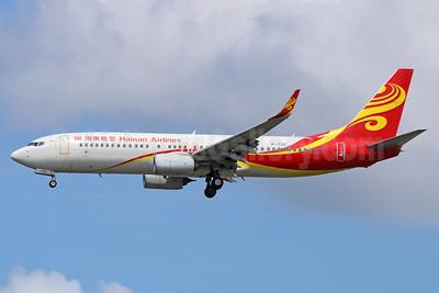Hainan Airlines Boeing 737-86N WL B-1733 (msn 41254) NRT (Michael B. Ing). Image: 937038.