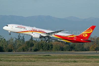 Hainan Airlines Boeing 787-9 Dreamliner B-1345 (msn 38781) PAE (Nick Dean). Image: 939739.