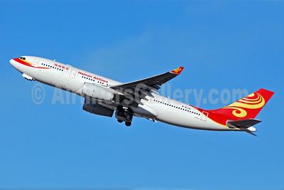 Hainan Airlines Airbus A330-243 B-6116 (msn 875) BRU (Karl Cornil). Image: 904645.