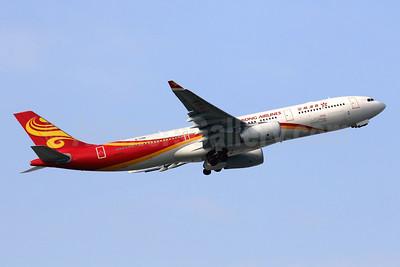 Hong Kong Airlines Airbus A330-343 B-LNQ (msn 1668) HKG (Javier Rodriguez). Image: 948425.