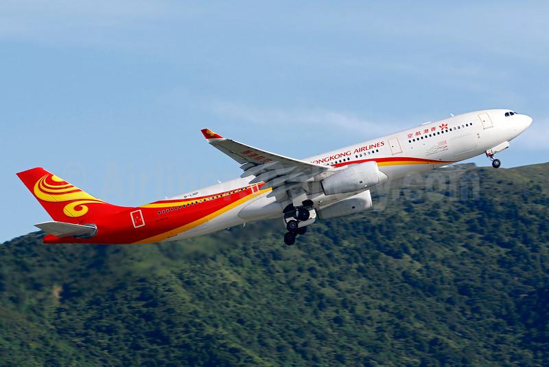 Hong Kong Airlines Airbus A330-343 B-LNP (msn 1398) HKG (Gilbert Hechema). Image: 926986.