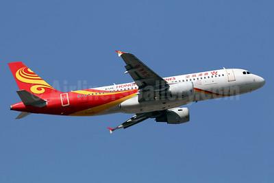 Hong Kong Airlines Airbus A320-214 B-LPE (msn 5260) HKG (Javier Rodriguez). Image: 936065.