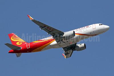 Hong Kong Airlines Airbus A320-214 WL B-LPP (msn 7035) HKG (Javier Rodriguez). Image: 948418.