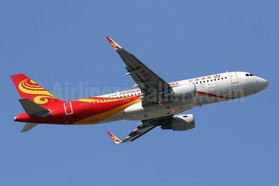Hong Kong Airlines Airbus A320-214 WL B-LPO (msn 6776) HKG (Javier Rodriguez). Image: 948417.