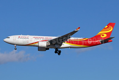Hong Kong Airlines Airbus A330-223 B-LND (msn 1042) NRT (Michael B. Ing). Image: 940419.