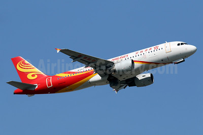 Hong Kong Airlines Airbus A320-214 B-LPJ (msn 5514) HKG (Javier Rodriguez). Image: 936068.