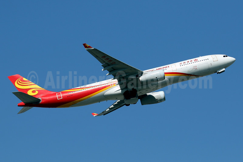 Hong Kong Airlines Airbus A330-343 B-LNP (msn 1398) HKG (Javier Rodriguez). Image: 936061.